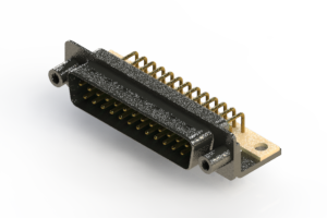 629-M25-240-GT6 - Right Angle D-Sub Connector