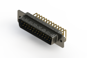 629-M25-240-LN2 - Right Angle D-Sub Connector