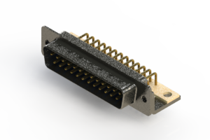 629-M25-240-LN4 - Right Angle D-Sub Connector