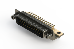629-M25-240-LN5 - Right Angle D-Sub Connector