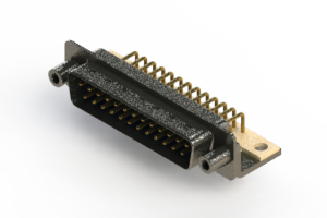 629-M25-240-LN6 - Right Angle D-Sub Connector