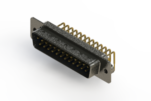 629-M25-240-LT2 - Right Angle D-Sub Connector