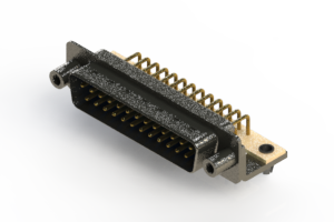 629-M25-240-LT5 - Right Angle D-Sub Connector