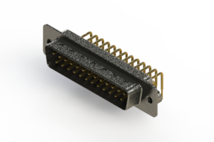 629-M25-240-WN2 - Right Angle D-Sub Connector