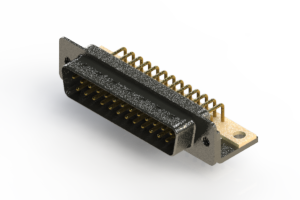 629-M25-240-WN4 - Right Angle D-Sub Connector