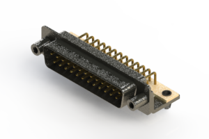 629-M25-240-WN5 - Right Angle D-Sub Connector