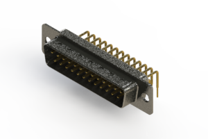 629-M25-240-WT1 - Right Angle D-Sub Connector