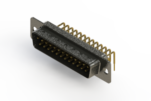 629-M25-340-BN1 - Right Angle D-Sub Connector