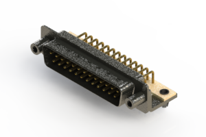 629-M25-340-BN5 - Right Angle D-Sub Connector