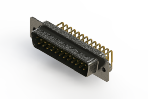 629-M25-340-GN2 - Right Angle D-Sub Connector