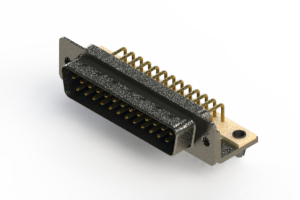 629-M25-340-LN3 - Right Angle D-Sub Connector