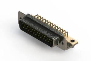 629-M25-640-GN3 - Right Angle D-Sub Connector