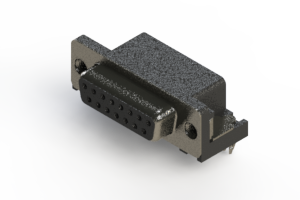 630-015-640-045 - D-Sub Right Angle Connector