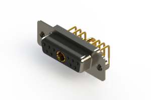 630-11W1240-1NA - Right-angle Power Combo D-Sub Connector
