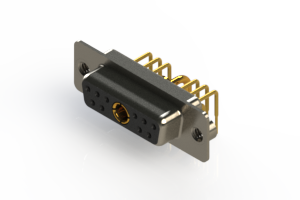 630-11W1240-1TA - Right-angle Power Combo D-Sub Connector