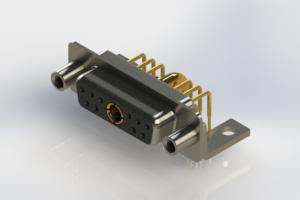 630-11W1240-3NE - Right-angle Power Combo D-Sub Connector