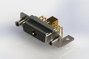 630-11W1240-7NE - Right-angle Power Combo D-Sub Connector