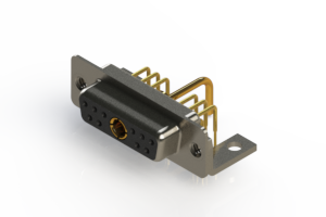 630-11W1250-1NC - Right-angle Power Combo D-Sub Connector
