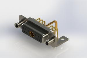 630-11W1250-1NE - Right-angle Power Combo D-Sub Connector