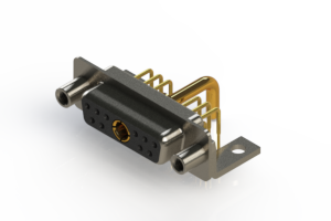 630-11W1250-2N6 - Right-angle Power Combo D-Sub Connector
