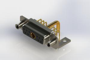 630-11W1250-2NE - Right-angle Power Combo D-Sub Connector