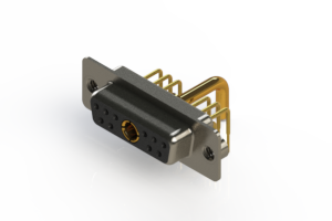 630-11W1250-2TA - Right-angle Power Combo D-Sub Connector