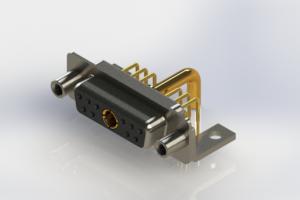 630-11W1250-3NE - Right-angle Power Combo D-Sub Connector