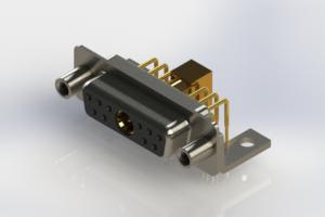630-11W1640-5NE - Right-angle Power Combo D-Sub Connector