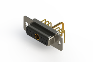 630-11W1650-1N1 - Right-angle Power Combo D-Sub Connector