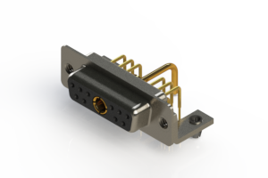 630-11W1650-1N3 - Right-angle Power Combo D-Sub Connector