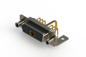 630-11W1650-1N6 - Right-angle Power Combo D-Sub Connector