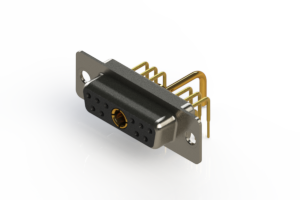 630-11W1650-1T1 - Right-angle Power Combo D-Sub Connector