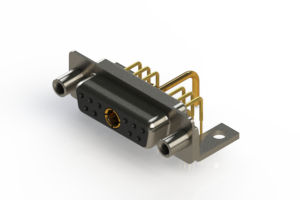 630-11W1650-1T6 - Right-angle Power Combo D-Sub Connector