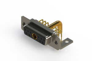 630-11W1650-4NC - Right-angle Power Combo D-Sub Connector