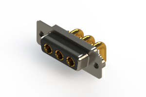 630-3W3-240-3N2 - Right-angle Power Combo D-Sub Connector