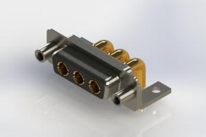 630-3W3-240-4NE - Right-angle Power Combo D-Sub Connector
