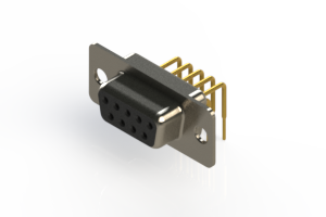 630-M09-240-BN1 - Right Angle D-Sub Connector