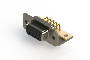 630-M09-340-BN4 - Right Angle D-Sub Connector