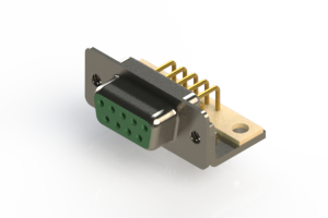 630-M09-340-GN4 - Right Angle D-Sub Connector