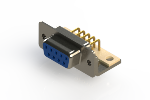 630-M09-340-LT4 - Right Angle D-Sub Connector