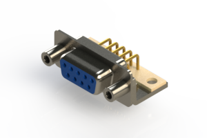 630-M09-340-LT6 - Right Angle D-Sub Connector