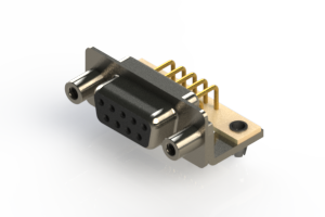 630-M09-640-BN5 - Right Angle D-Sub Connector