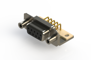 630-M09-640-BN6 - Right Angle D-Sub Connector