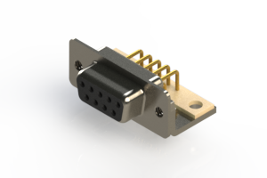 630-M09-640-BT4 - Right Angle D-Sub Connector