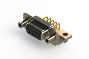 630-M09-640-BT5 - Right Angle D-Sub Connector