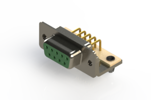630-M09-640-GN3 - Right Angle D-Sub Connector