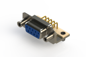 630-M09-640-LN5 - Right Angle D-Sub Connector