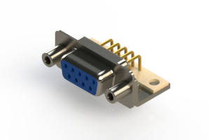 630-M09-640-LN6 - Right Angle D-Sub Connector