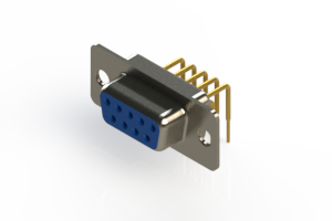 630-M09-640-LT1 - Right Angle D-Sub Connector