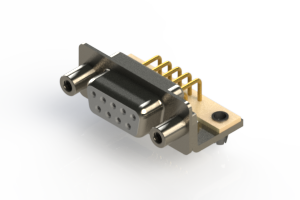 630-M09-640-WN5 - Right Angle D-Sub Connector